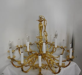Antique Lighting Restoration Service
