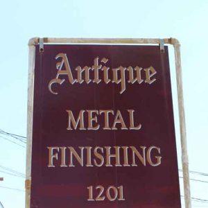Antique Metal Finishing, Long Beach, CA